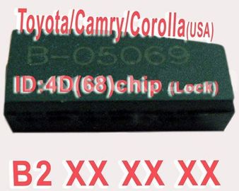 Toyota / Camry / Corolla 4D68 duplicable Chip B2XXX Auto Key Transponder Chip
